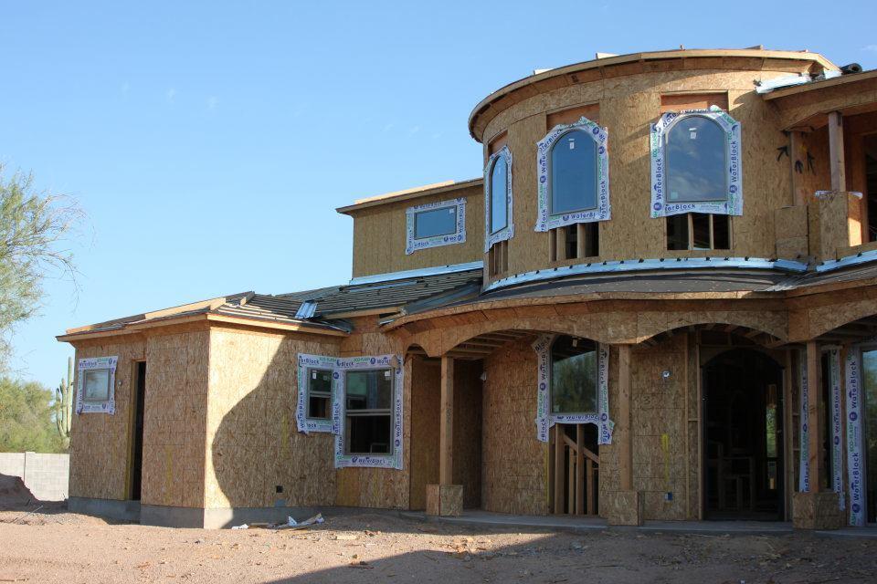 Exterior featured in the Bullock  By Neidhart Enterprises, Inc. in Phoenix-Mesa, AZ