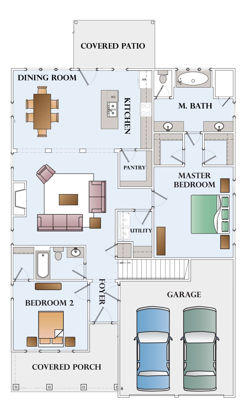 Montgomery homes carolina floor plans home design and style for Carolina style house plans