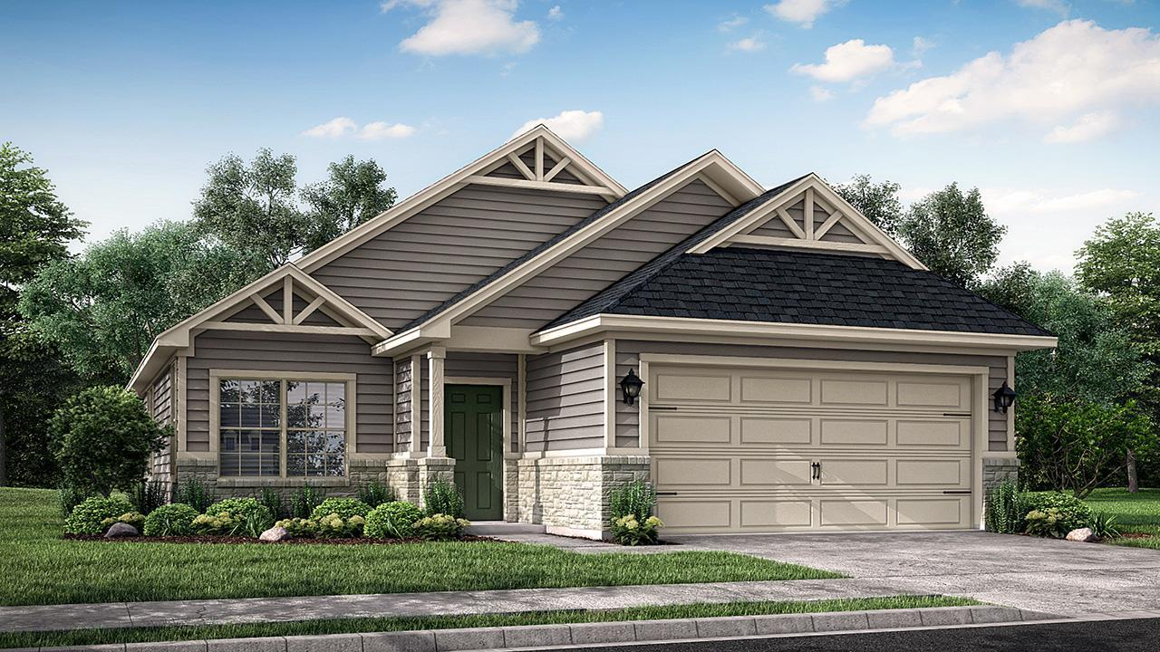 Exterior featured in the Berkeley By New Phase Home Builders in Bryan-College Station, TX