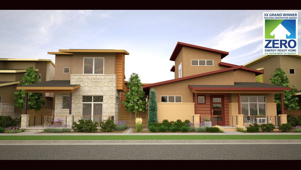 Boulevard one at lowry in denver co by thrive home builders for Thrive homes denver