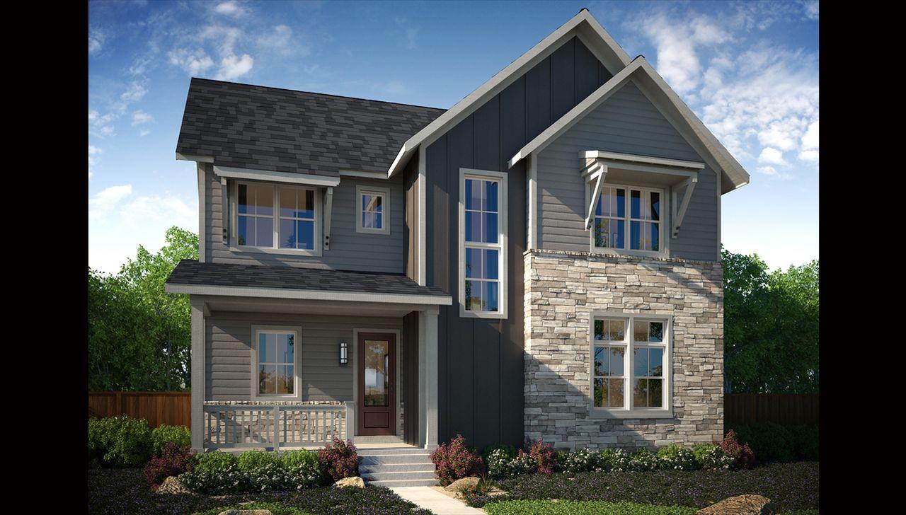 New homes for sale in denver colorado zen 2 0 collection for Thrive homes denver