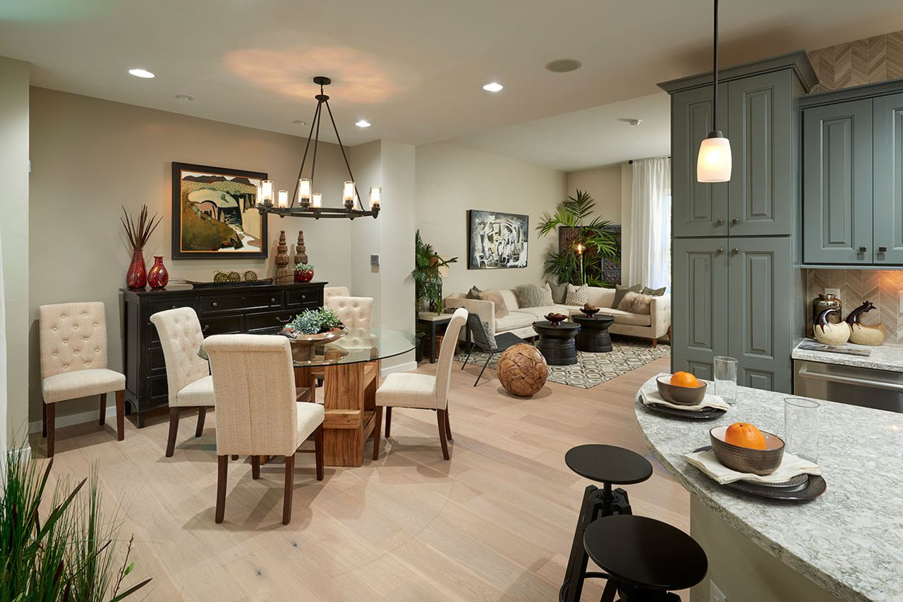 Rows at ridgegate in lone tree co by thrive home builders for Thrive homes denver