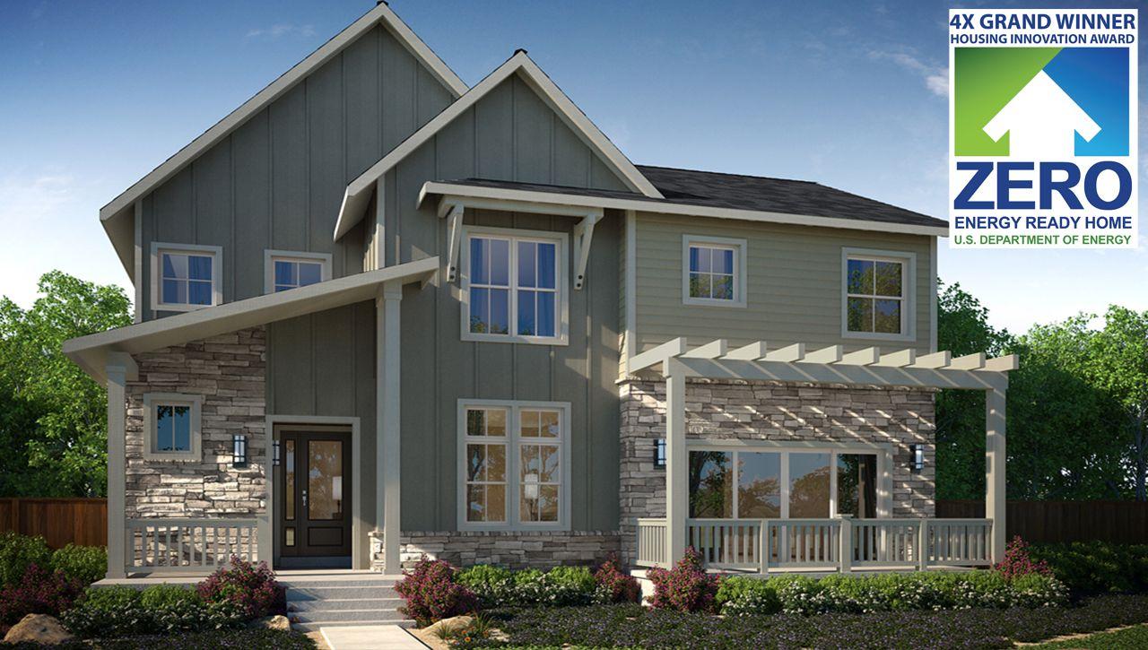 New construction denver zen 2 0 collection at stapleton for Thrive homes denver