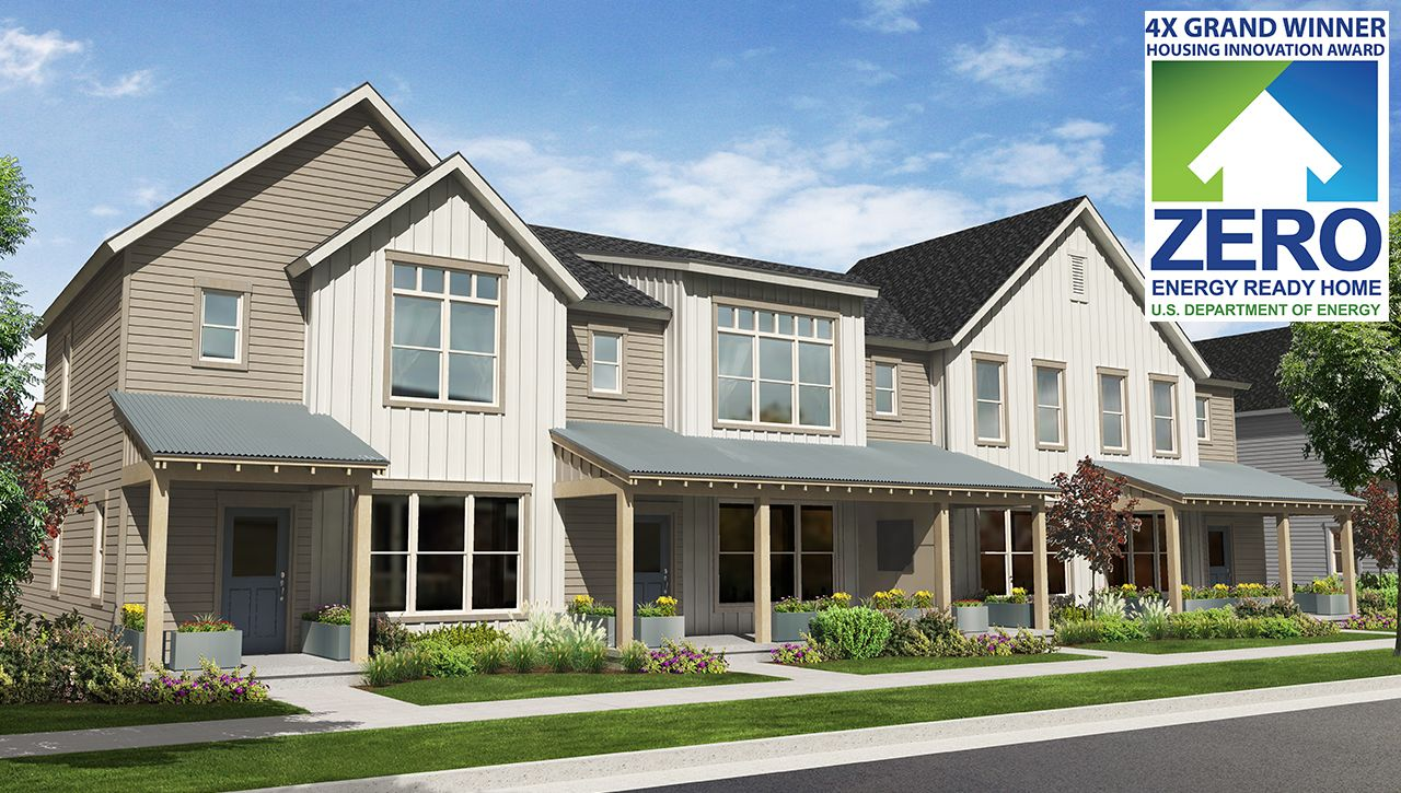 Elements income qualified rowhomes at stapleton in denver for Thrive homes denver