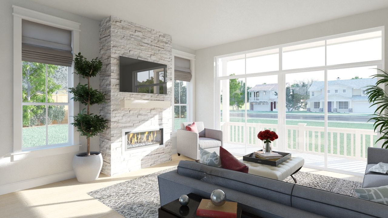 Zen 2 0 collection at stapleton in denver co by thrive for Thrive homes denver