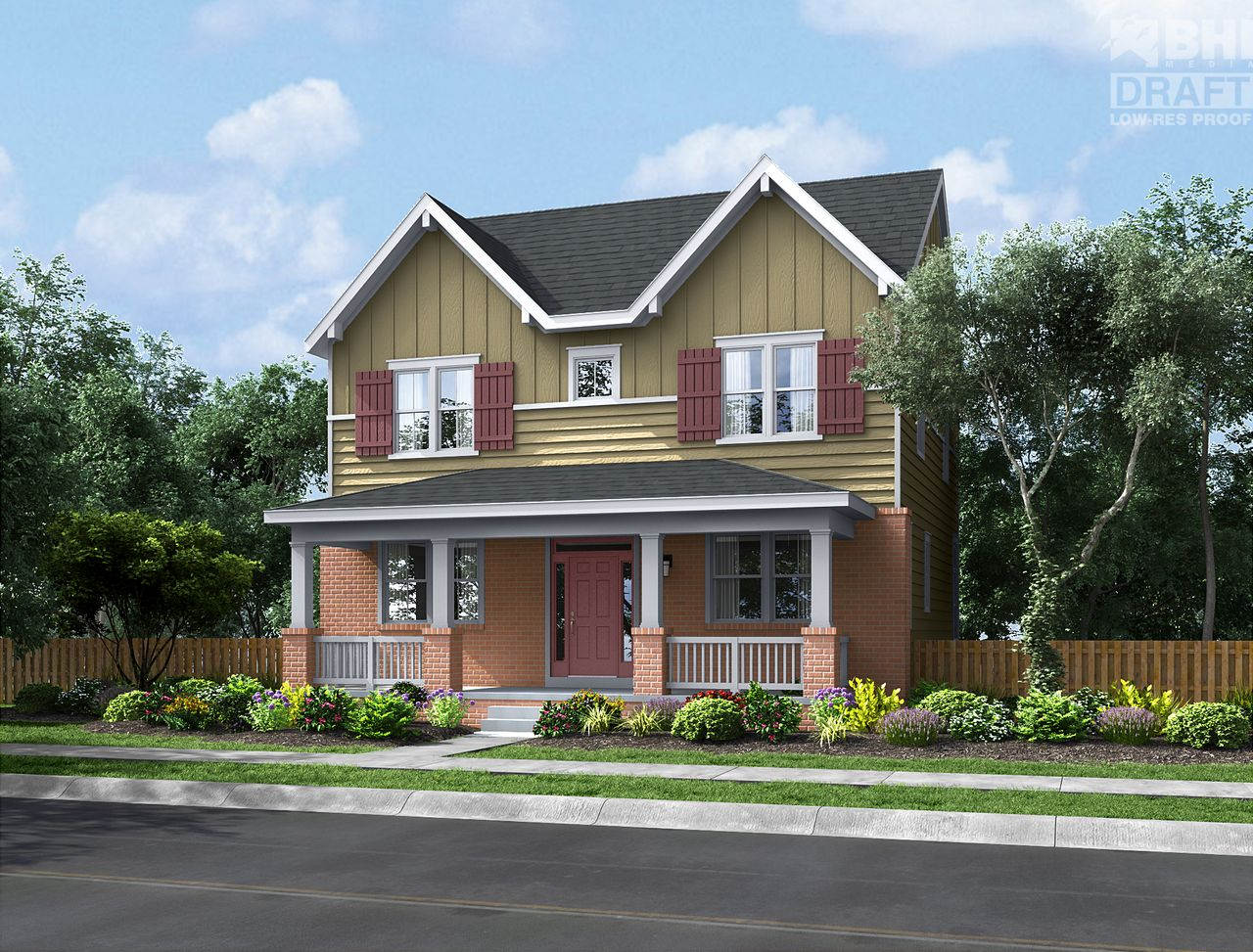 Berkeley home plan by thrive home builders in hyland village for Thrive homes denver