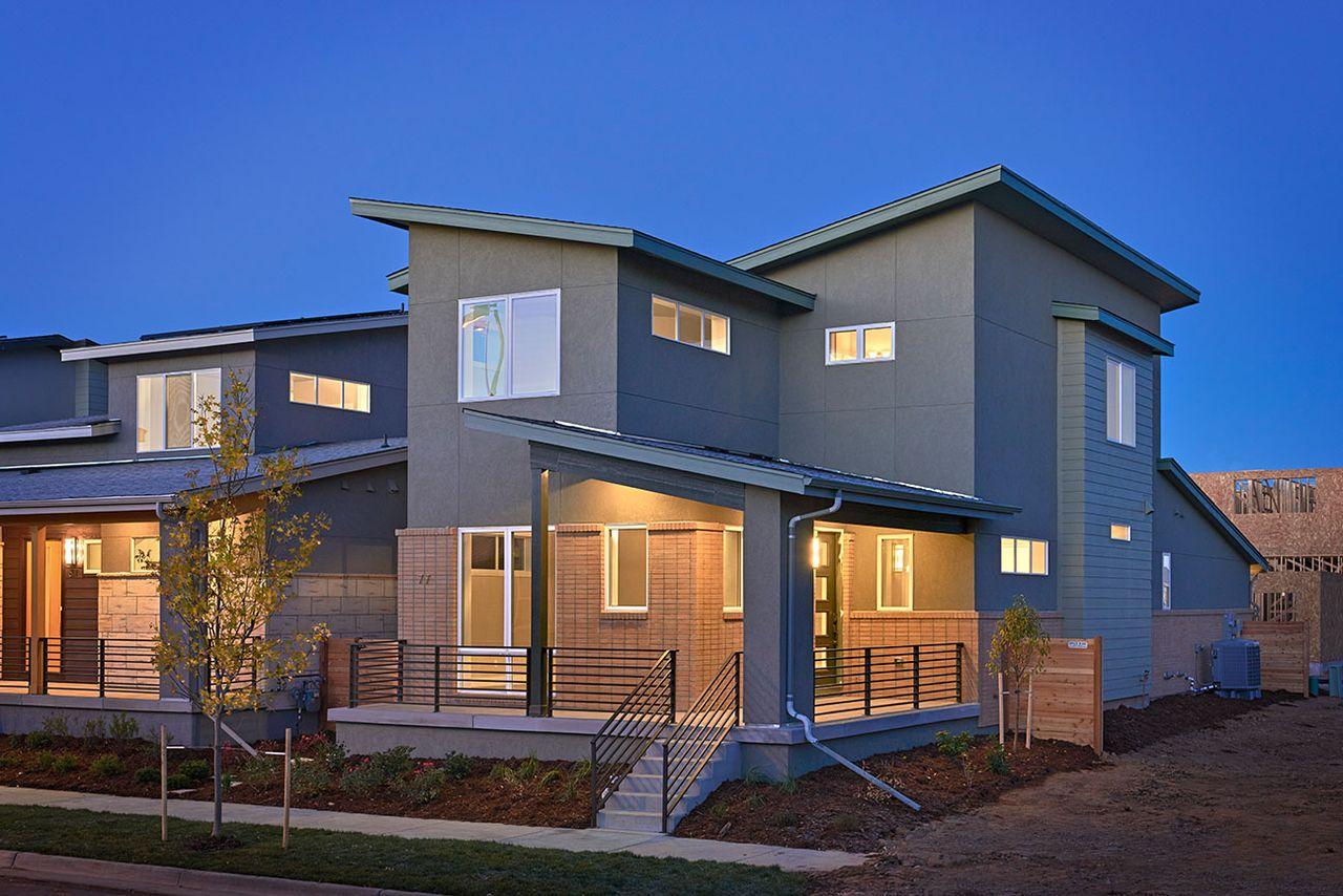 Revel model at 77 newport street for Thrive homes denver
