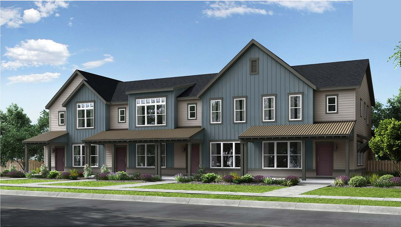 Bluff Lake Rows In Aurora Co By Thrive Home Builders