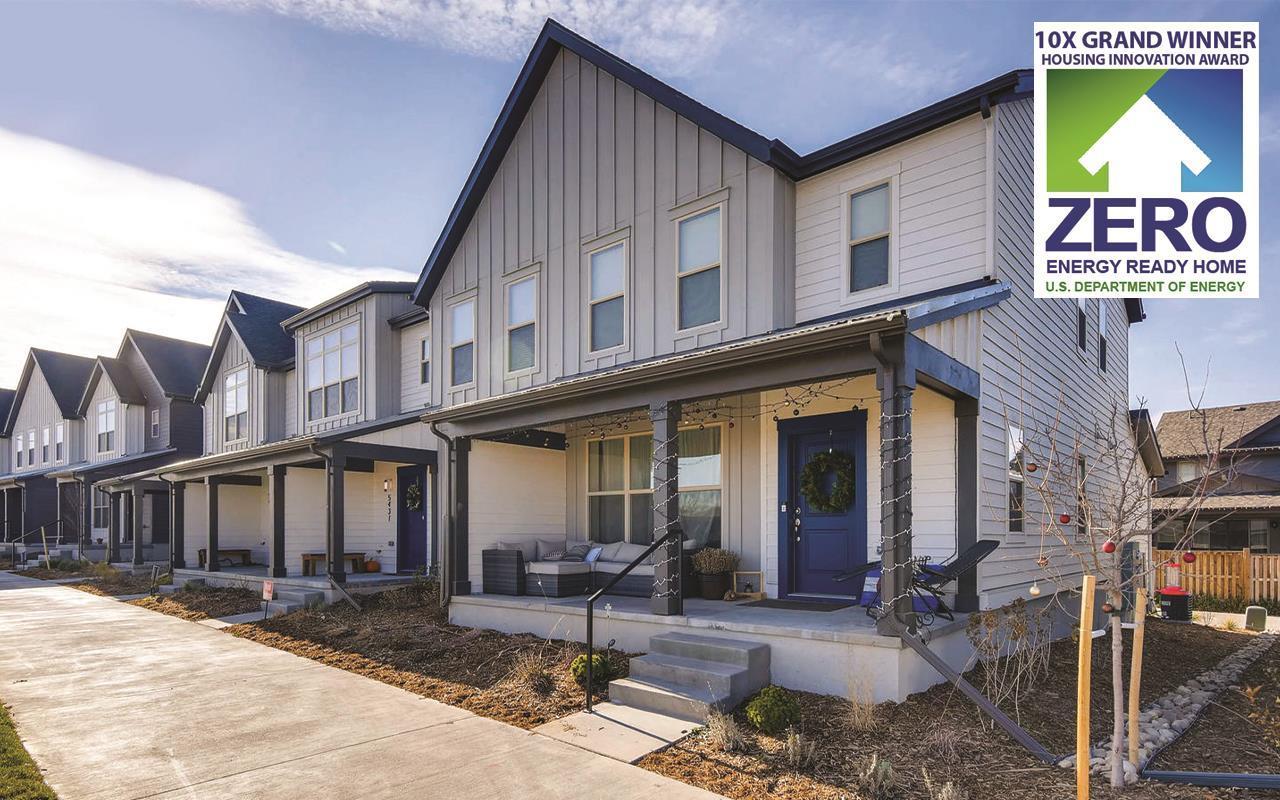 Income Qualified Housing Denver Colorado Elements Rowhomes