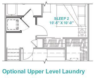 Optional Upper Level Laundry
