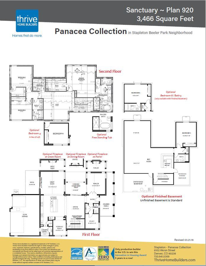 Sanctuary Home Plan by Thrive Home Builders in Panacea – Home Builder Interactive Floor Plans