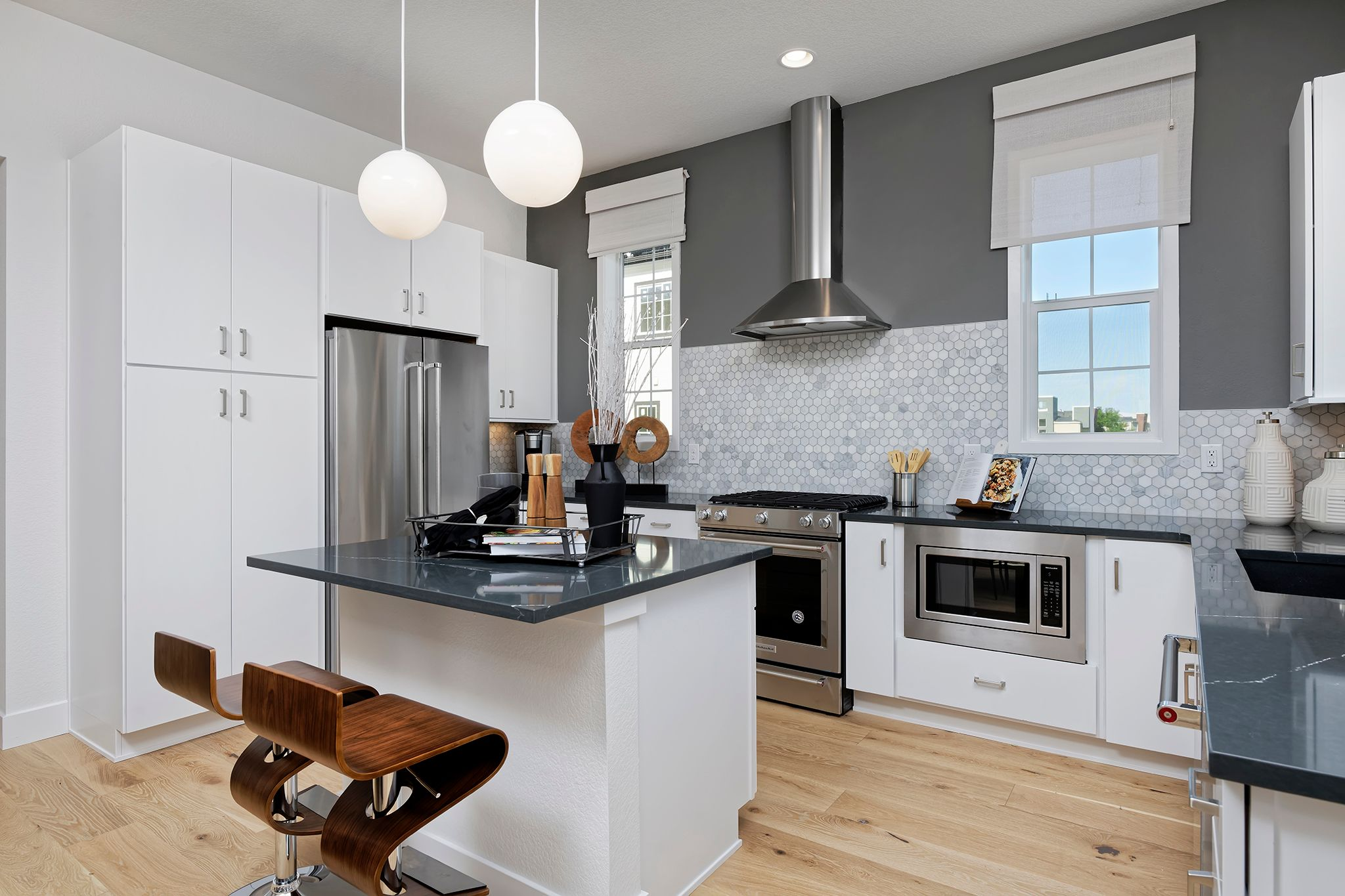 Kitchen featured in the Marquee By Thrive Home Builders in Denver, CO