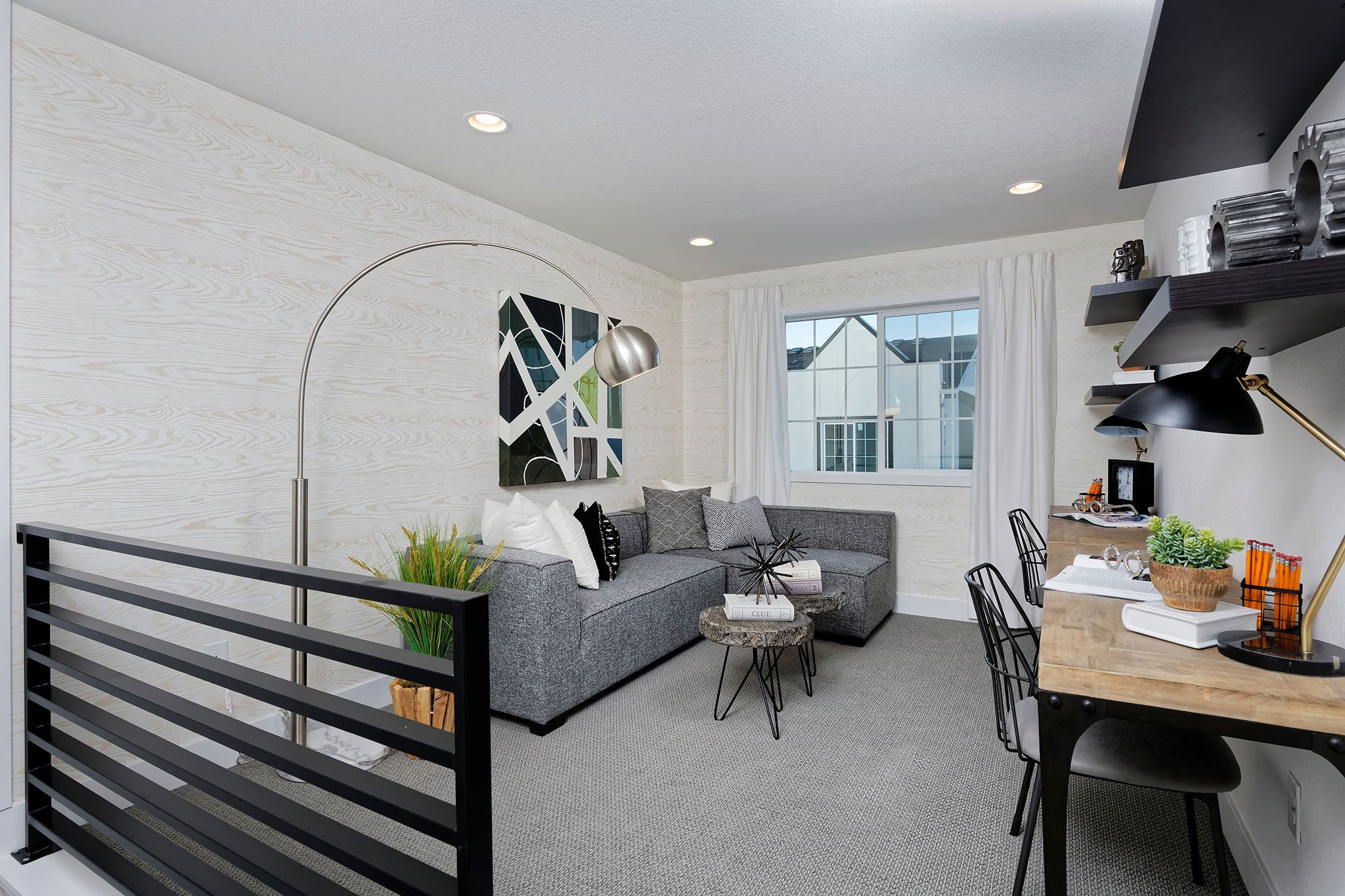 Living Area featured in the Marquee By Thrive Home Builders in Denver, CO