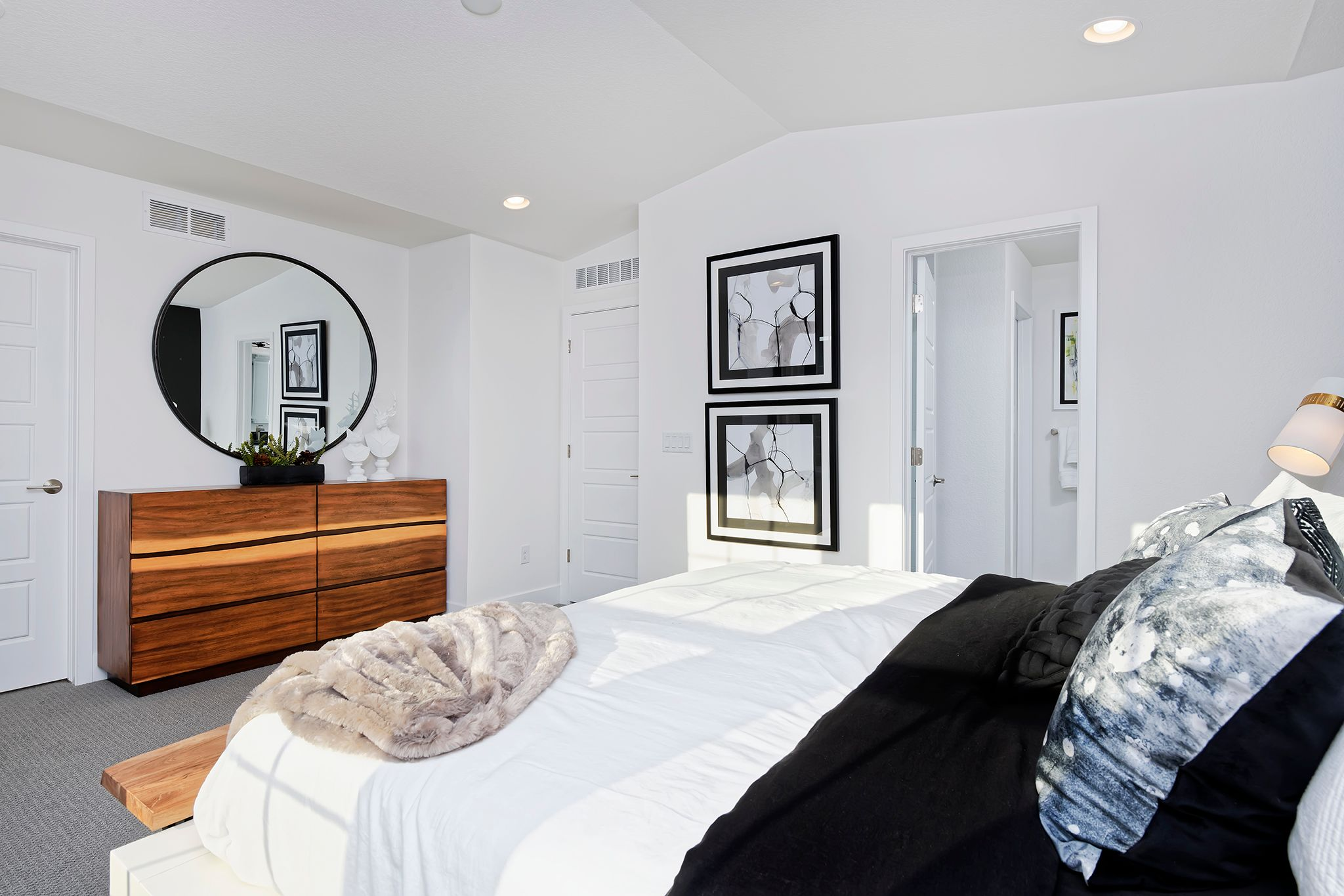 Bedroom featured in the Marquee By Thrive Home Builders in Denver, CO
