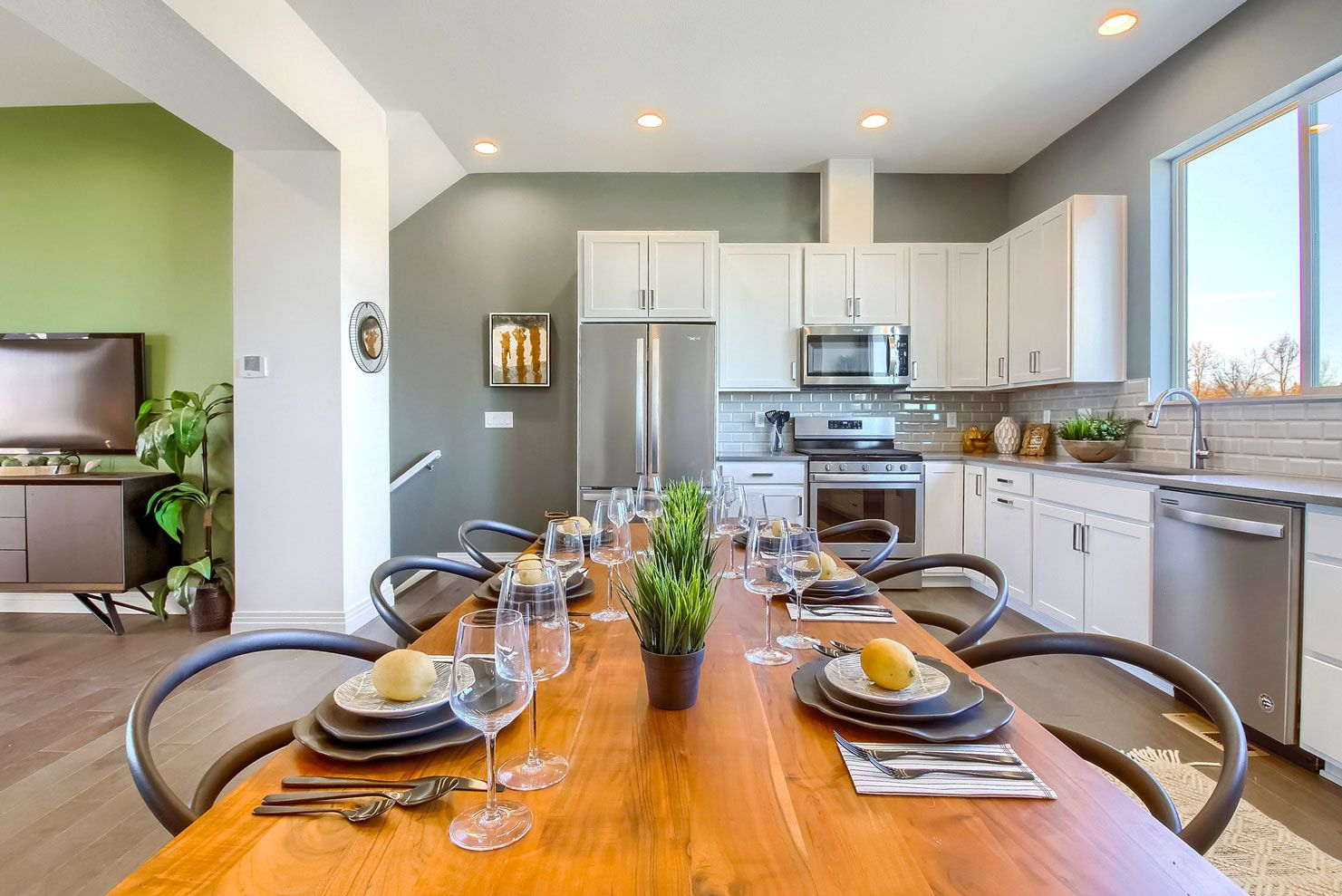 Kitchen featured in the Uptown By Thrive Home Builders in Denver, CO