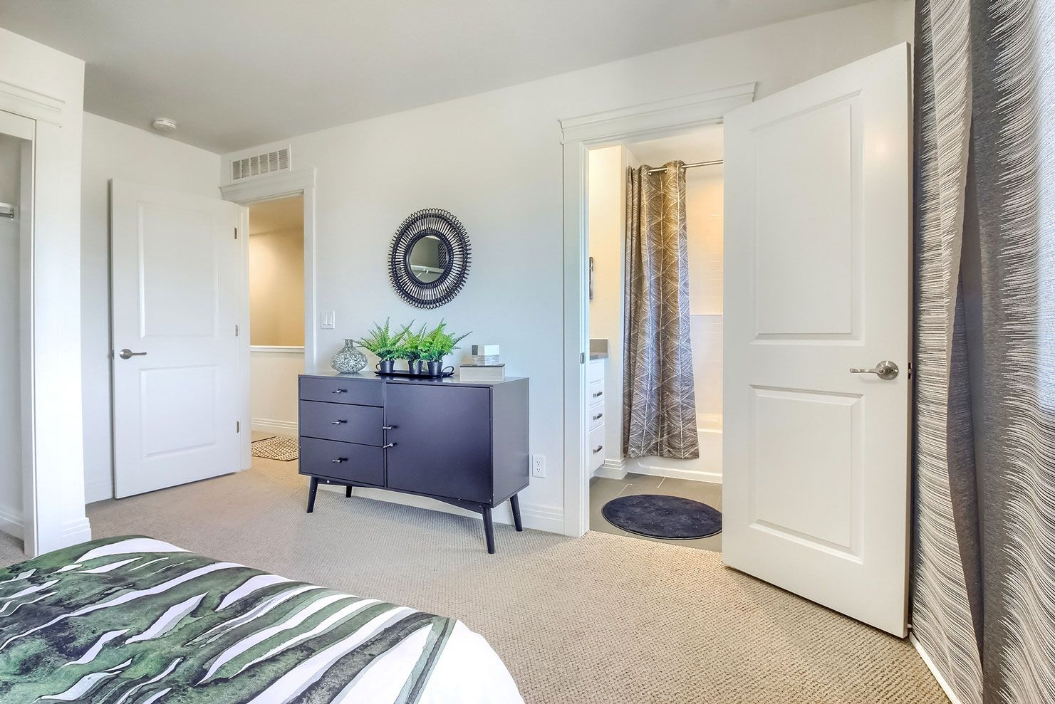 Bedroom featured in the Uptown By Thrive Home Builders in Denver, CO