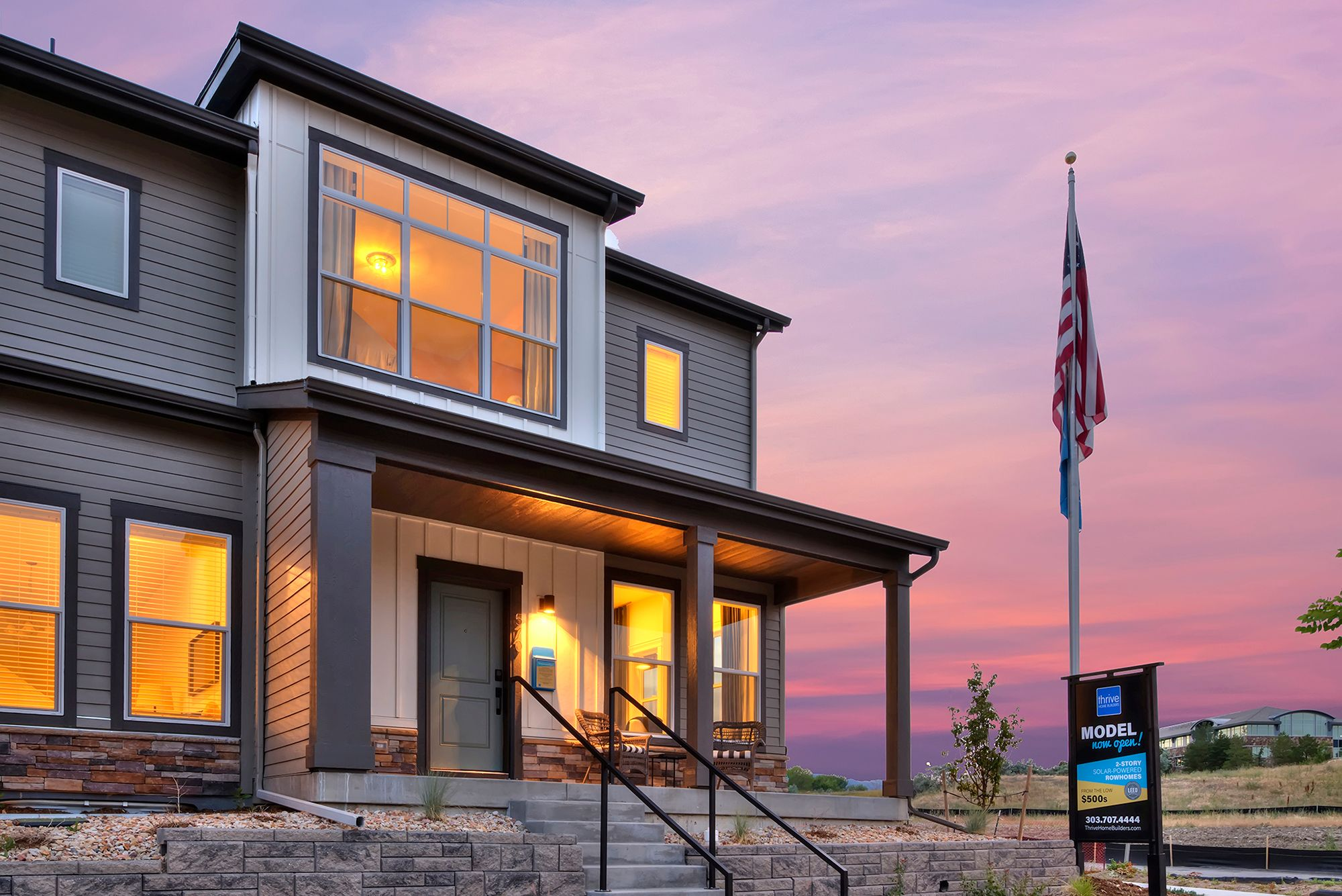 Exterior featured in the Insight By Thrive Home Builders in Boulder-Longmont, CO