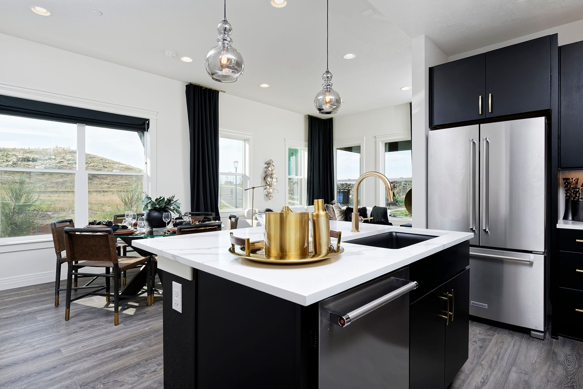 Living Area featured in the Insight By Thrive Home Builders in Boulder-Longmont, CO