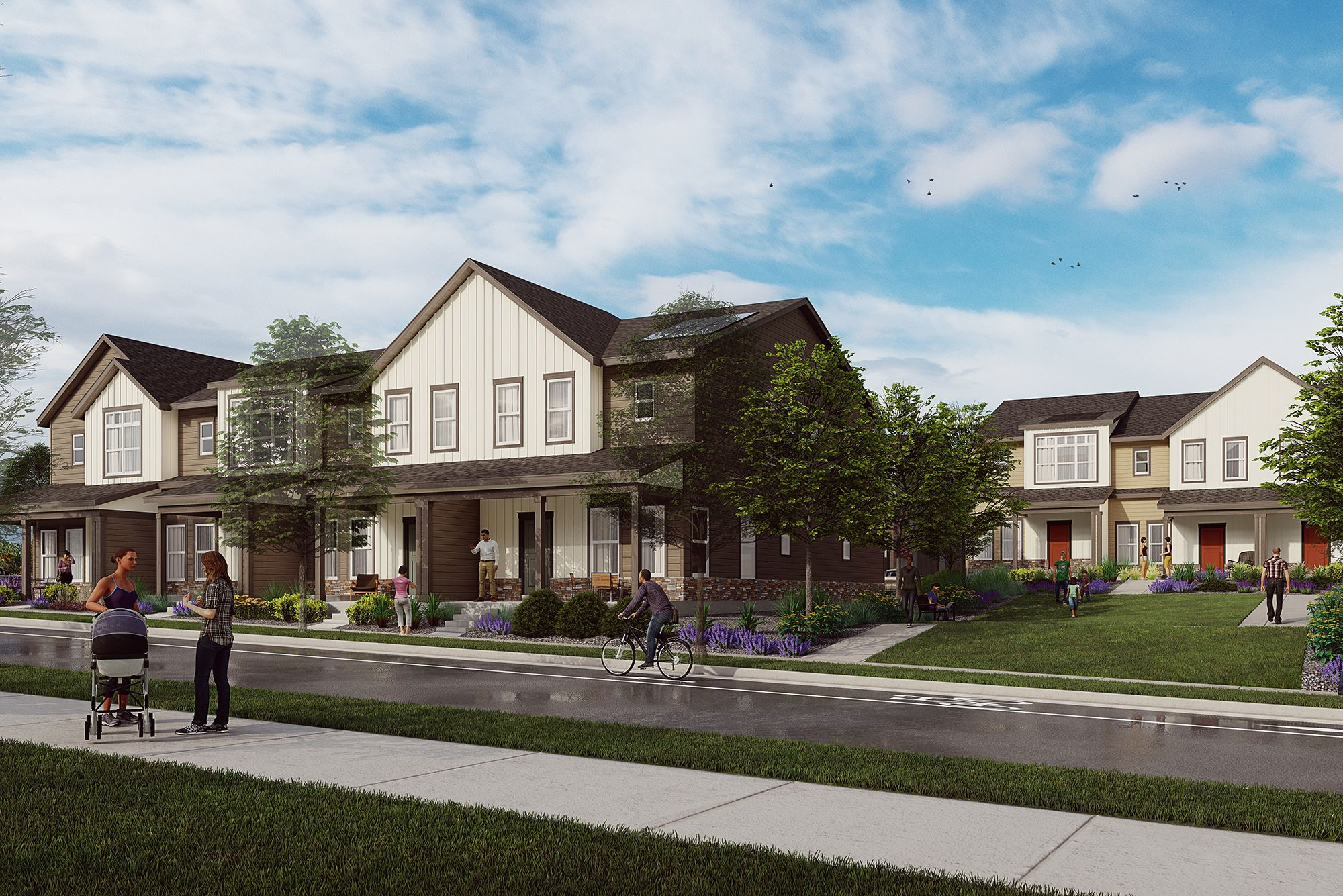 Exterior featured in the Balance By Thrive Home Builders in Boulder-Longmont, CO