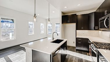 Kitchen featured in the Balance By Thrive Home Builders in Boulder-Longmont, CO