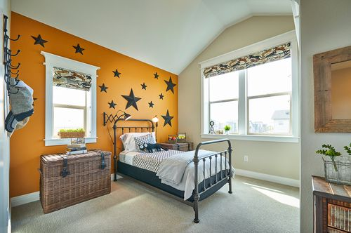 Bedroom-in-Plan Four-at-Vita Collection at Stapleton-in-Denver