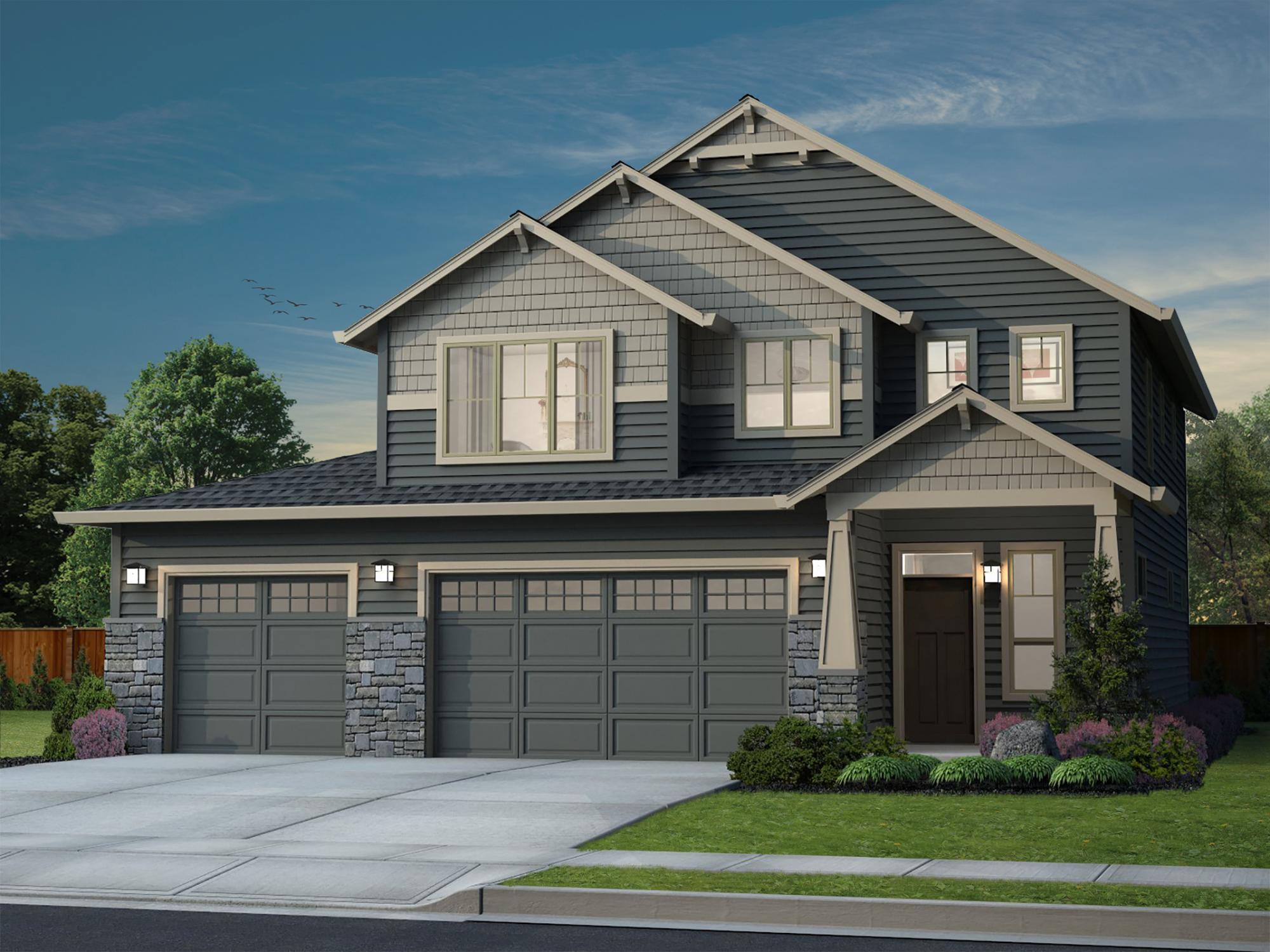 Exterior featured in the Everson By New Tradition Homes in Portland-Vancouver, WA
