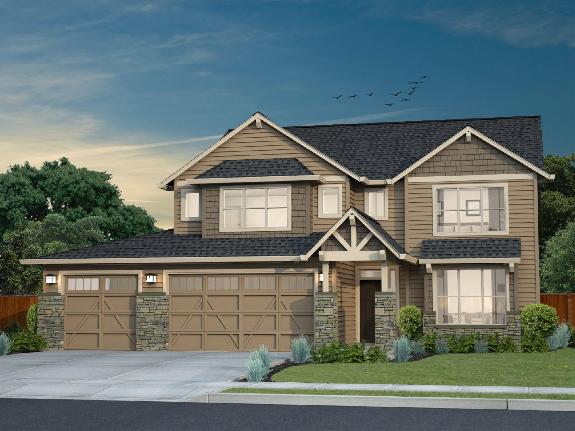 Exterior featured in the LaCrosse By New Tradition Homes in Portland-Vancouver, WA