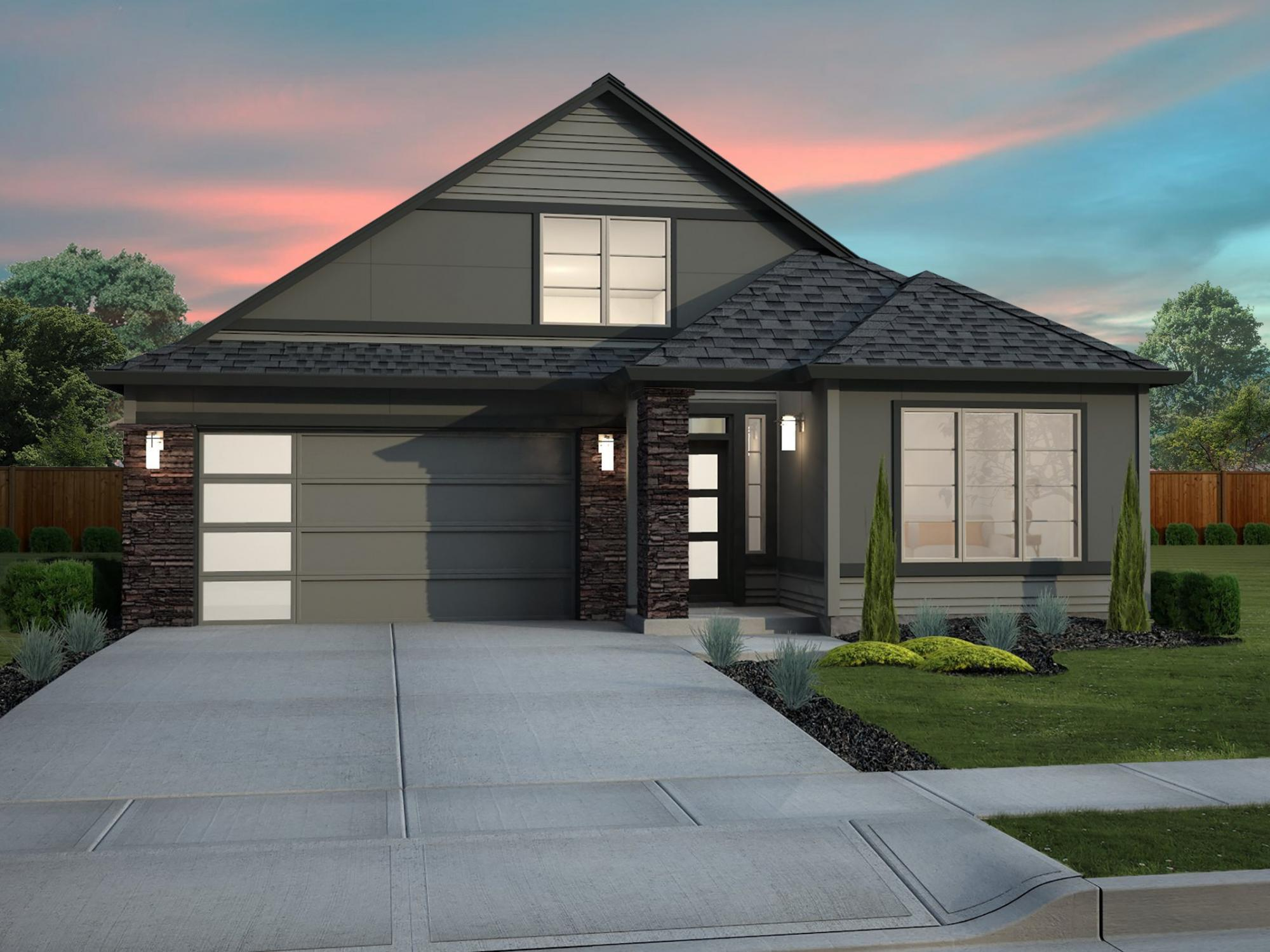 Exterior featured in the Silverton By New Tradition Homes in Richland, WA