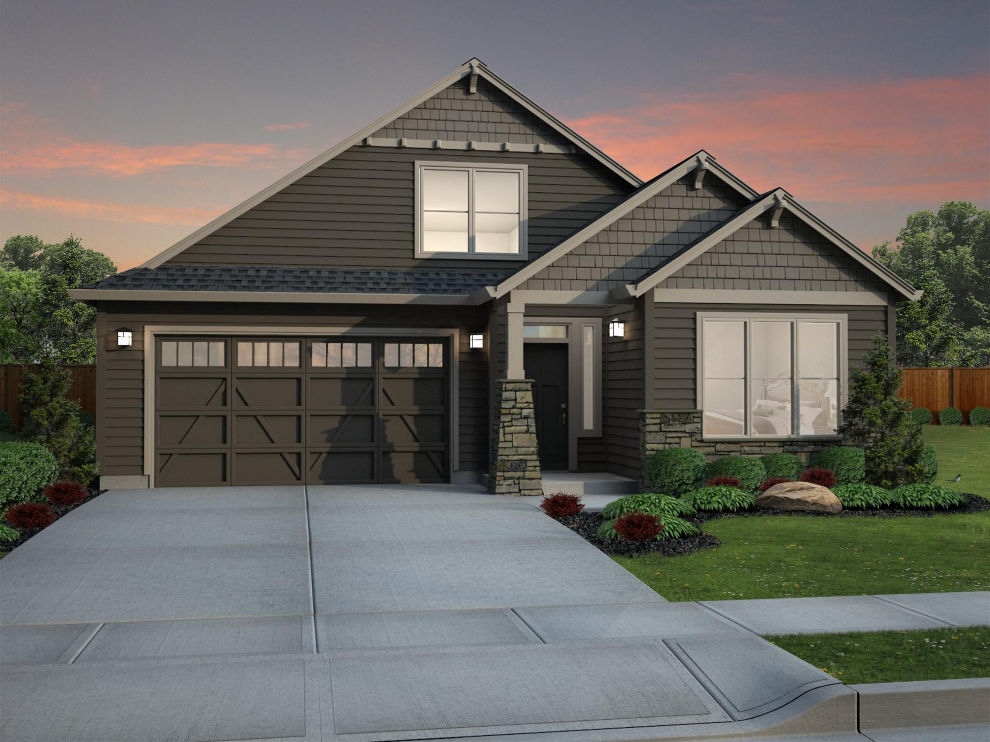 Exterior featured in the Silverton By New Tradition Homes in Portland-Vancouver, WA