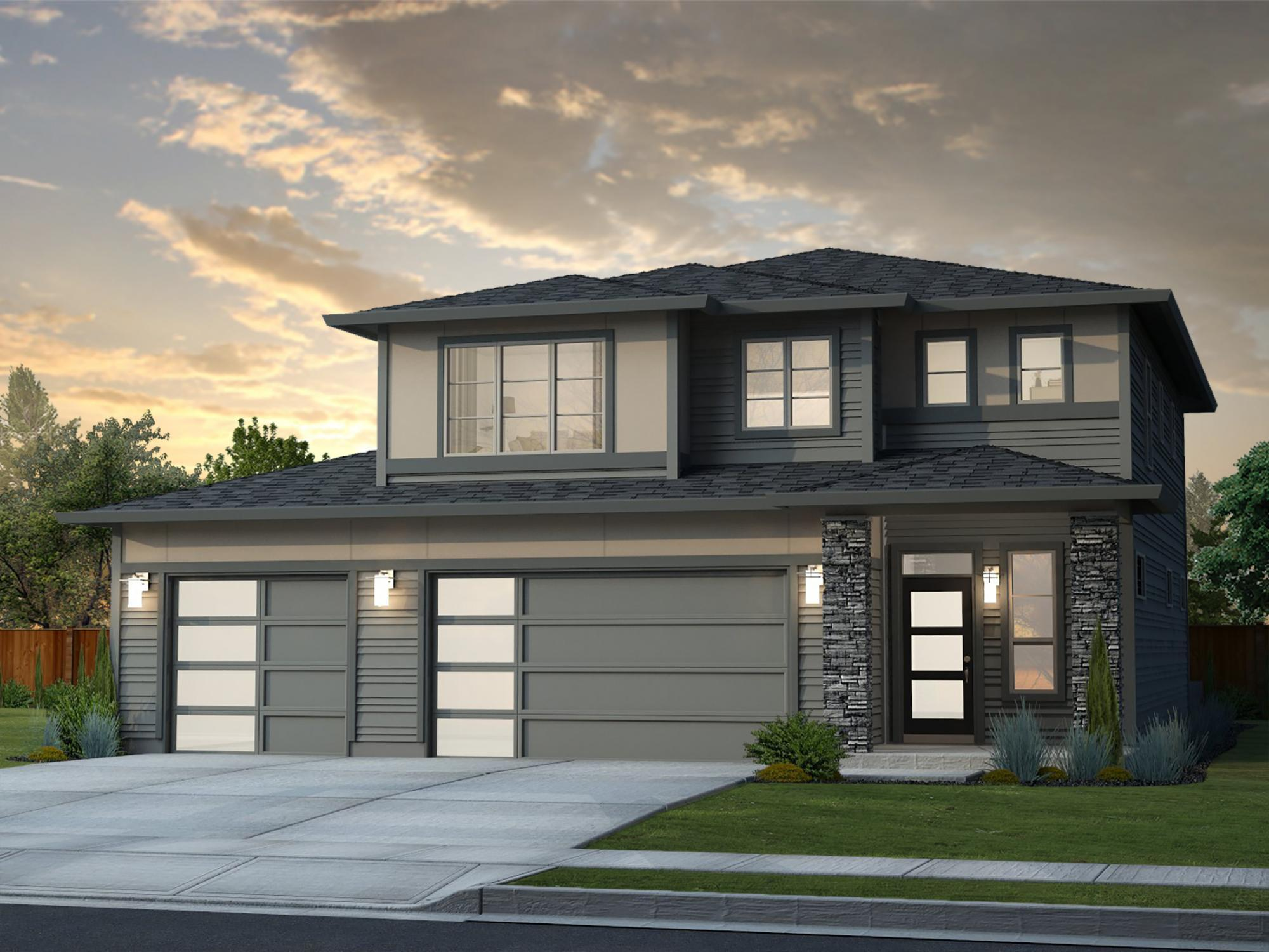 Exterior featured in the Lewiston By New Tradition Homes in Yakima, WA