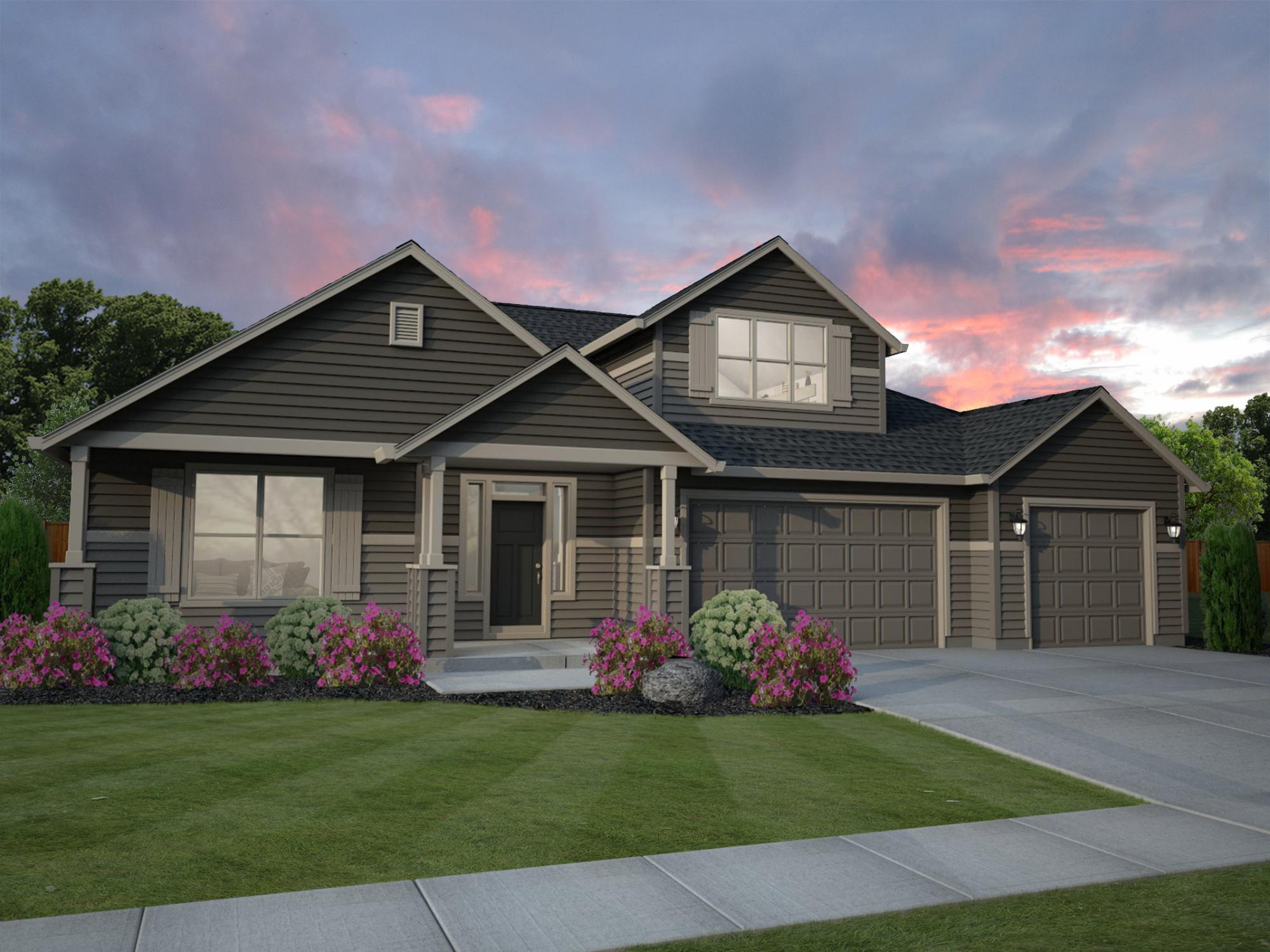 Exterior featured in the Bremerton By New Tradition Homes in Richland, WA