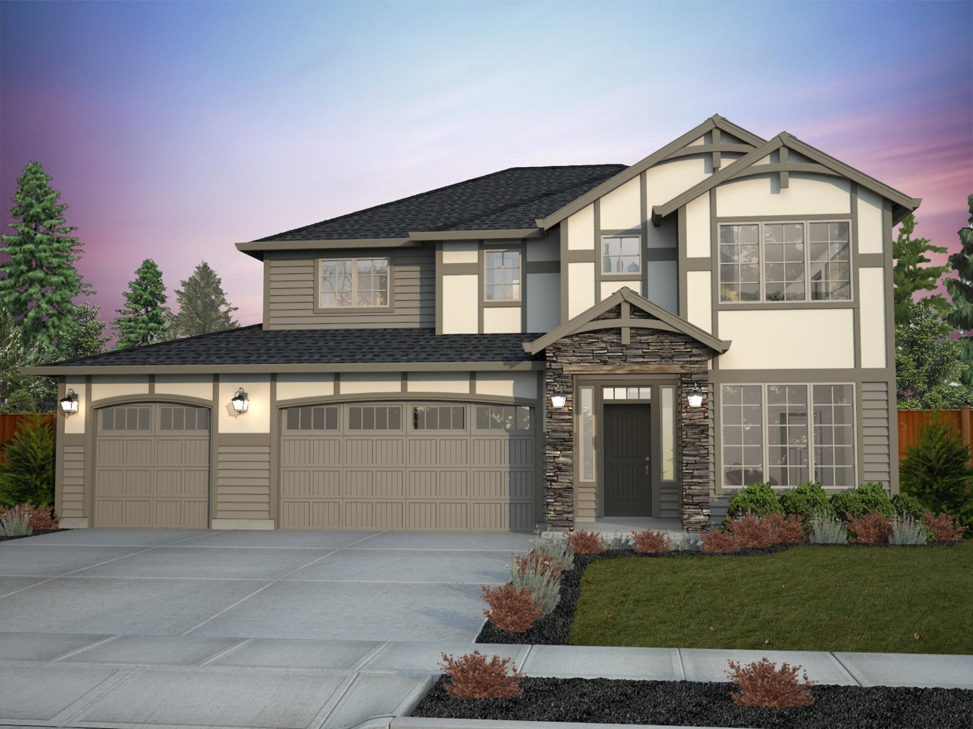 Exterior featured in the Bainbridge By New Tradition Homes in Portland-Vancouver, WA