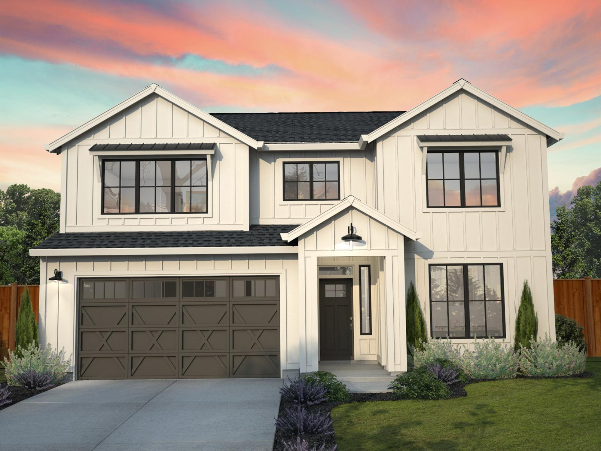 Exterior featured in the Whidbey By New Tradition Homes in Portland-Vancouver, WA