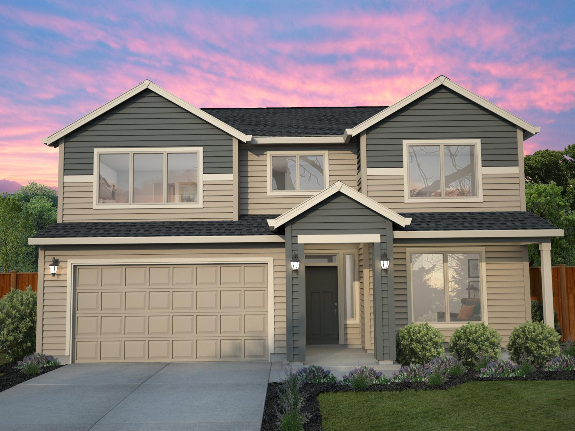 Exterior featured in the Whidbey By New Tradition Homes in Yakima, WA