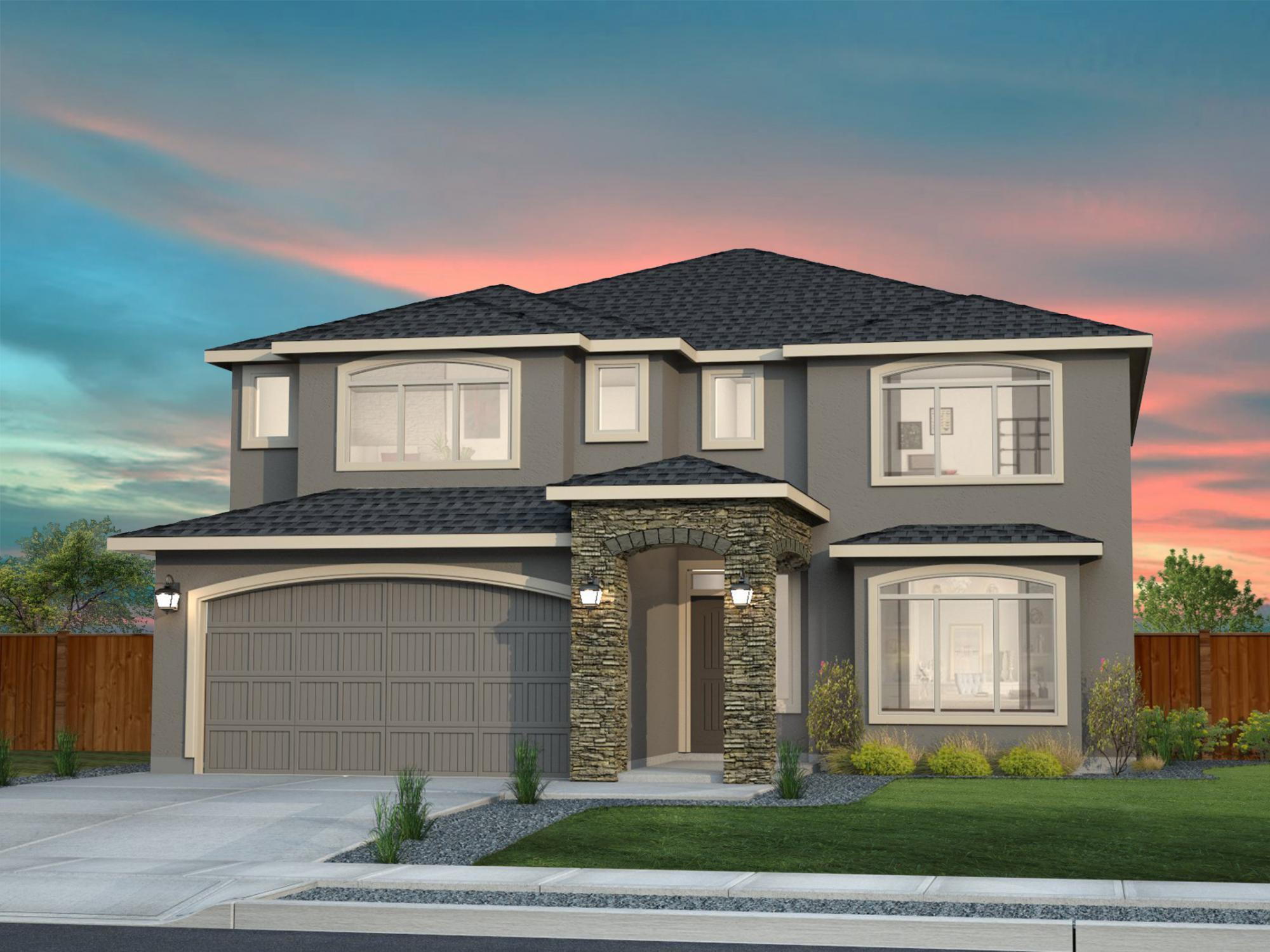 Exterior featured in the Winchester By New Tradition Homes in Yakima, WA
