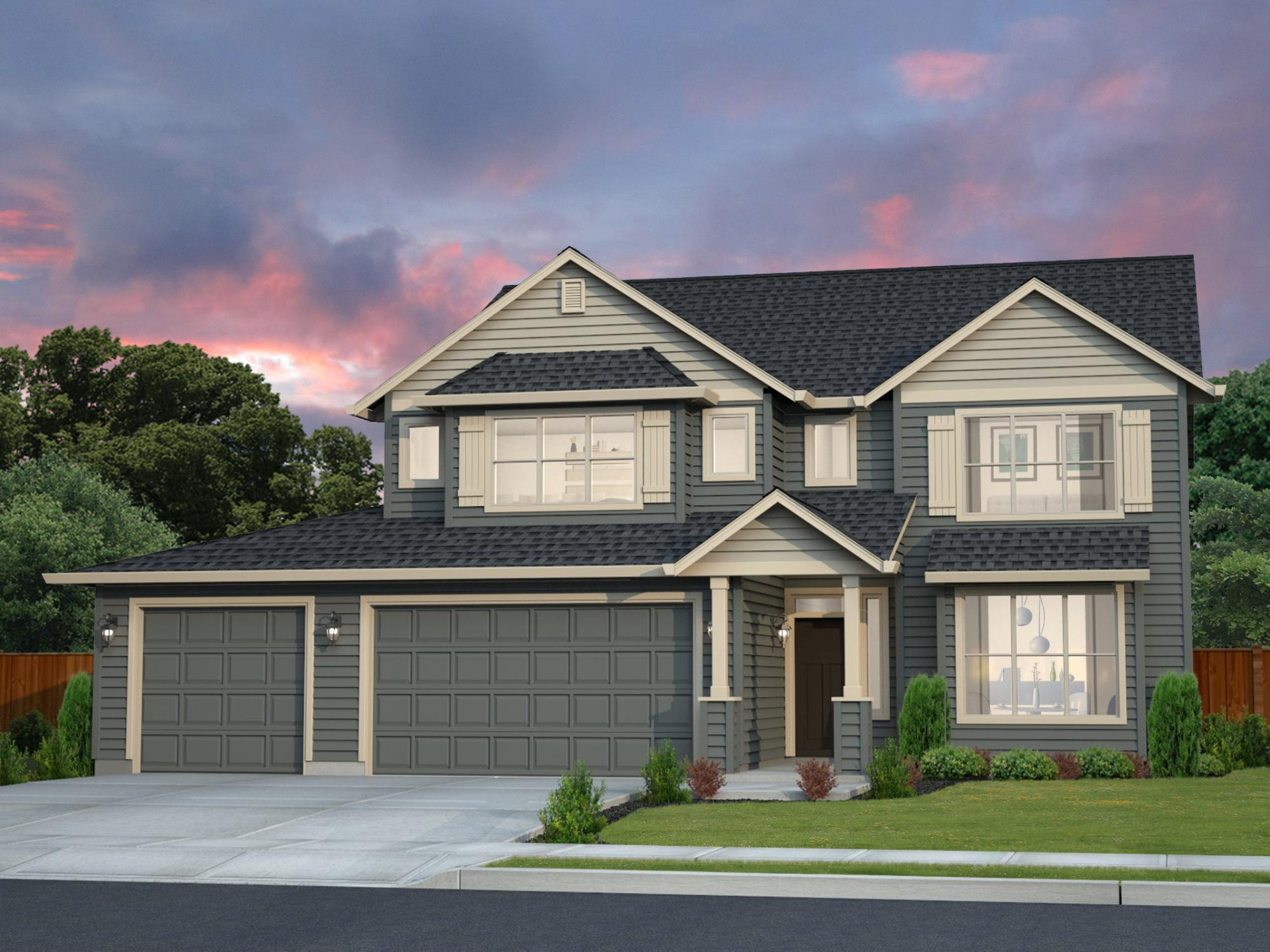 Exterior featured in the LaCrosse 2 By New Tradition Homes in Portland-Vancouver, WA