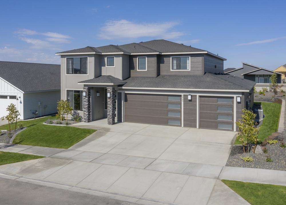Exterior featured in the Bainbridge By New Tradition Homes in Richland, WA