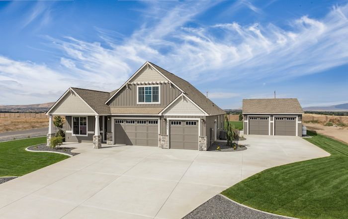 Exterior featured in the Riverside By New Tradition Homes in Richland, WA