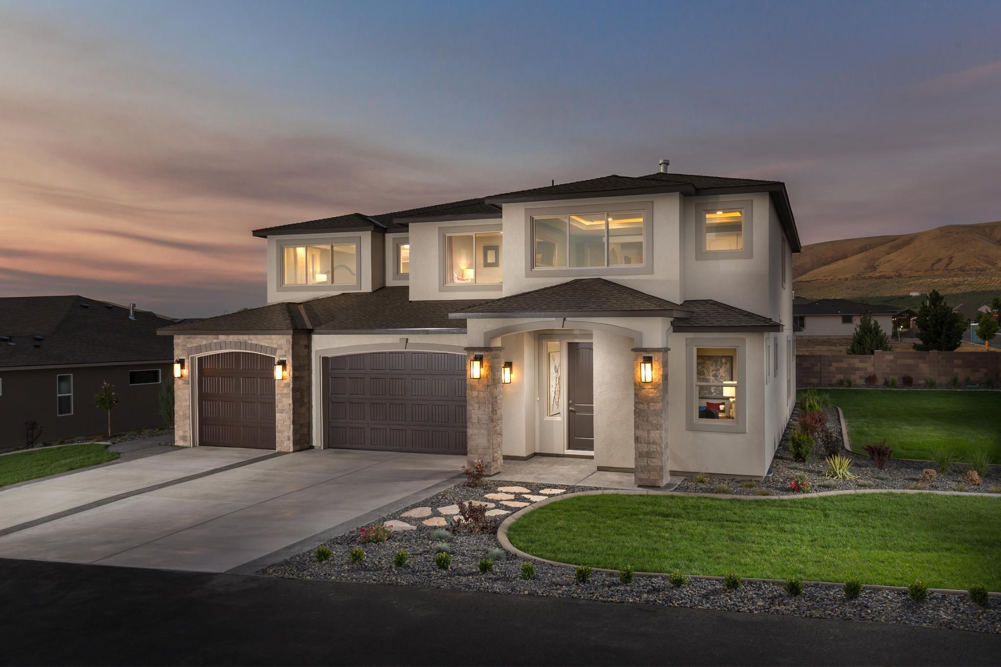 Exterior featured in the Laurelhurst By New Tradition Homes in Richland, WA