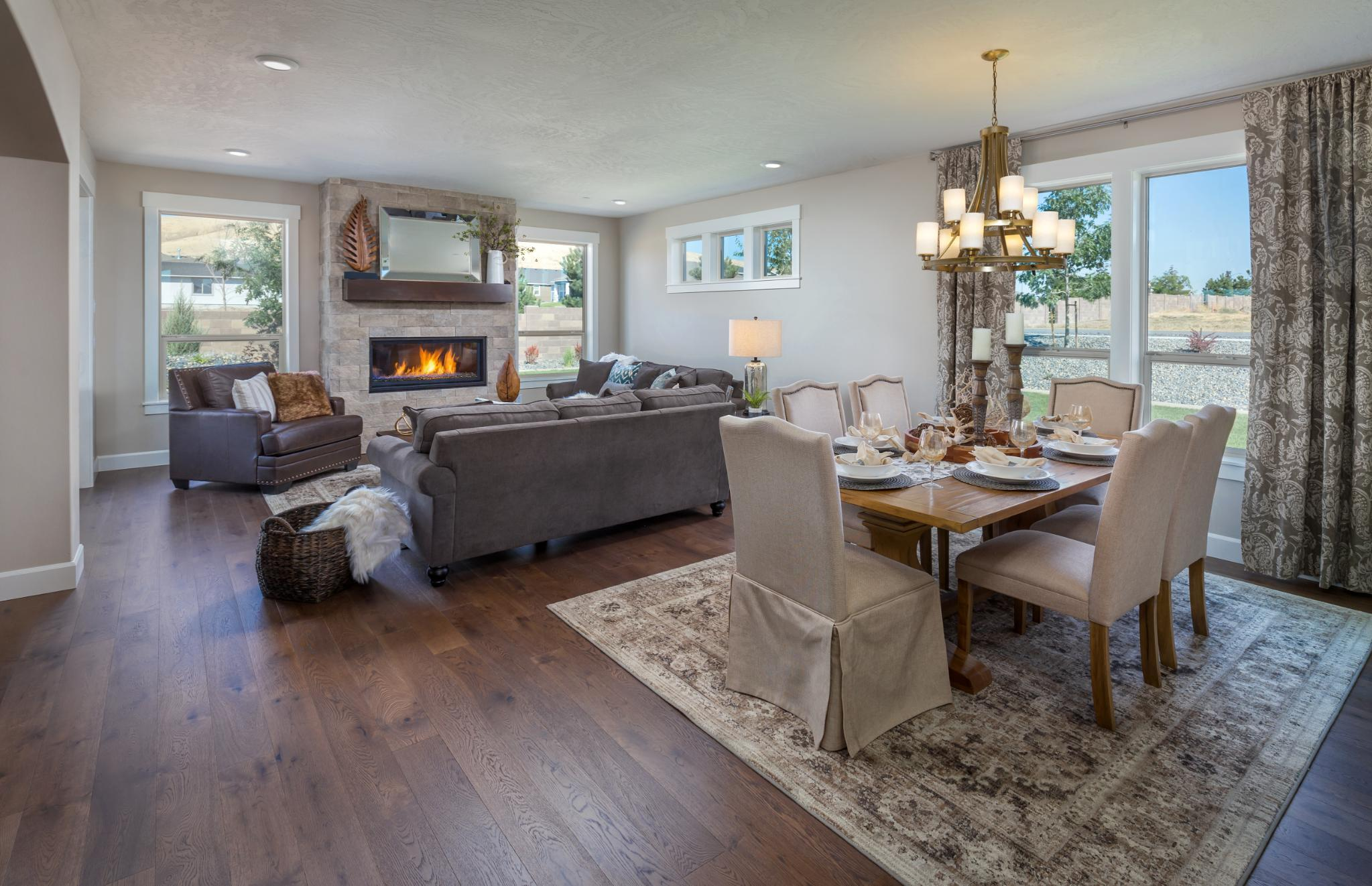 Living Area featured in the Laurelhurst By New Tradition Homes in Portland-Vancouver, WA
