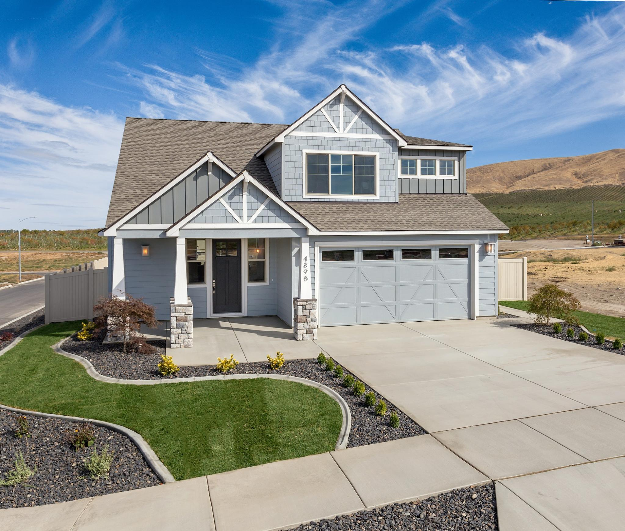 Exterior featured in the Ashford By New Tradition Homes in Richland, WA