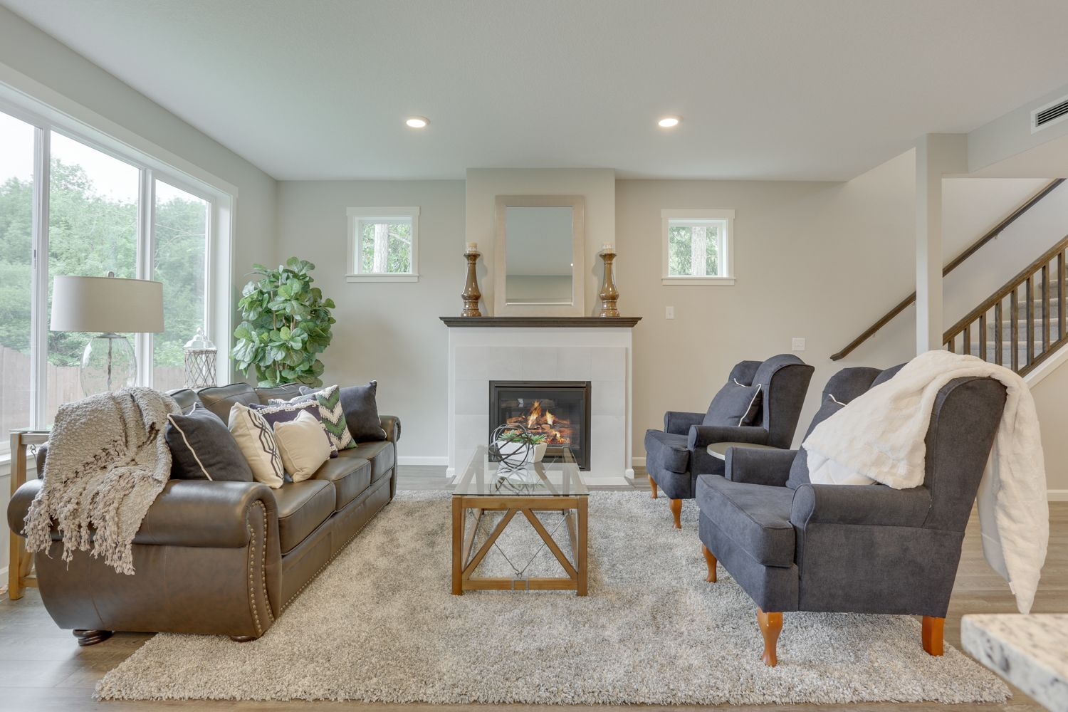 Living Area featured in the Newberg By New Tradition Homes in Portland-Vancouver, WA