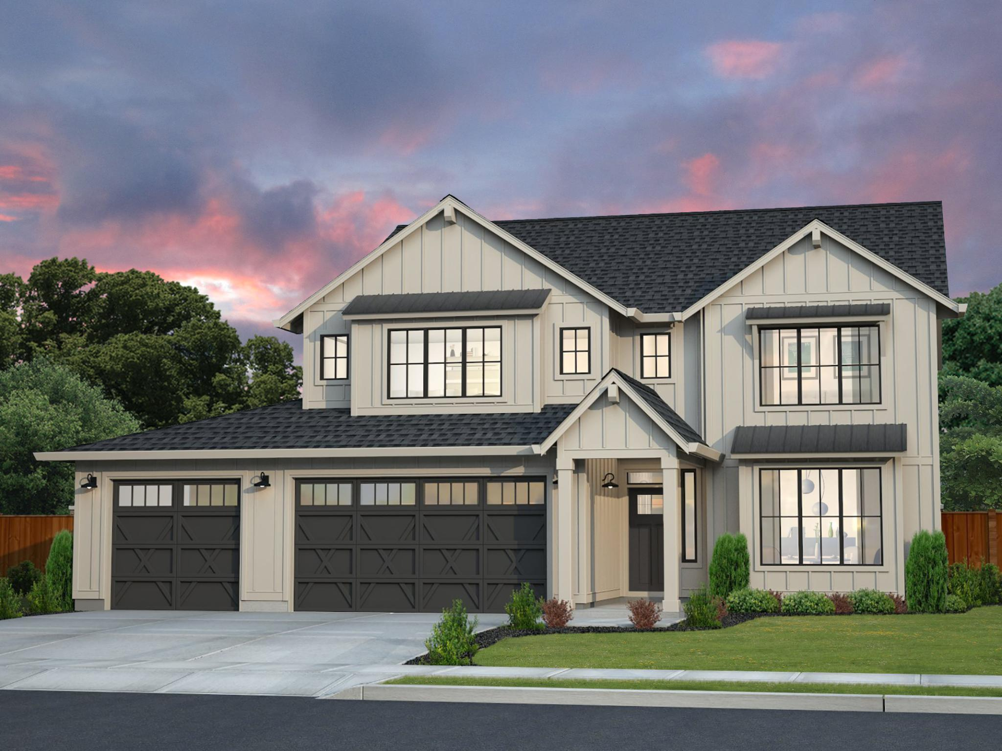 Exterior featured in the LaCrosse By New Tradition Homes in Richland, WA