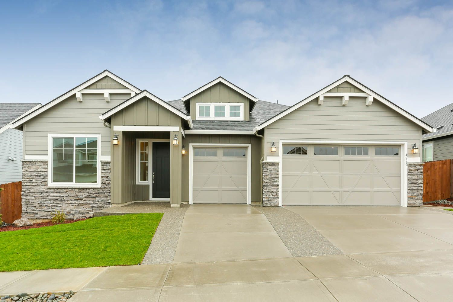 Exterior featured in the Cashmere By New Tradition Homes in Richland, WA