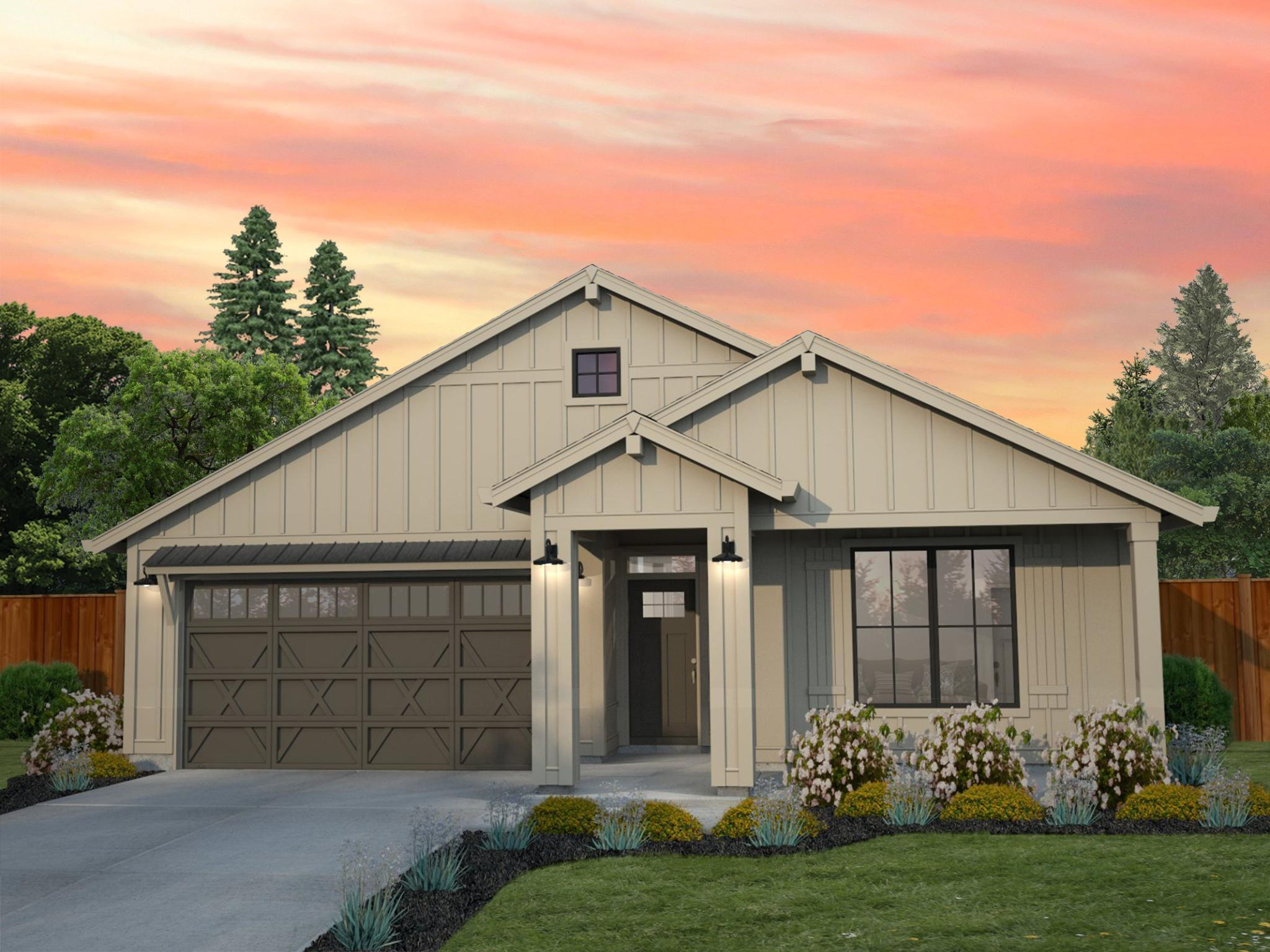 Exterior featured in the Astoria By New Tradition Homes in Portland-Vancouver, WA