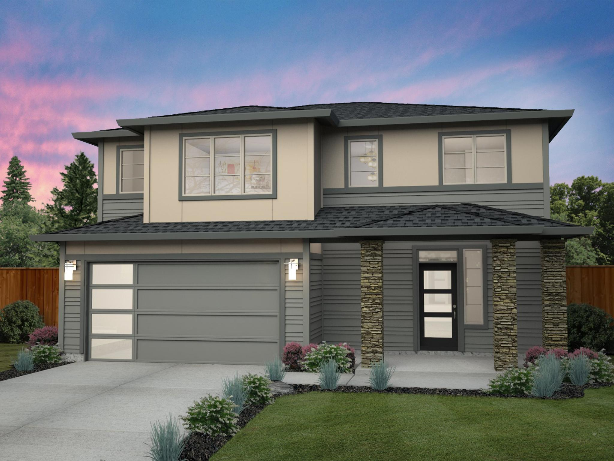Exterior featured in the Alderwood By New Tradition Homes in Portland-Vancouver, WA