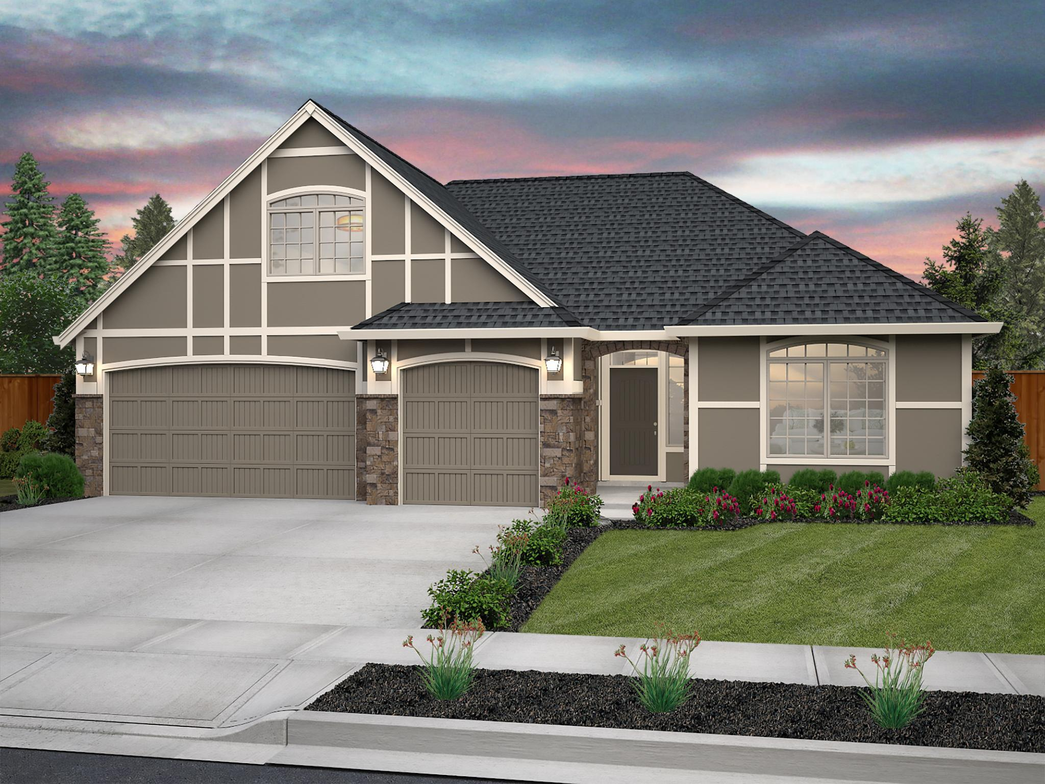 Exterior featured in the Deschutes By New Tradition Homes in Yakima, WA