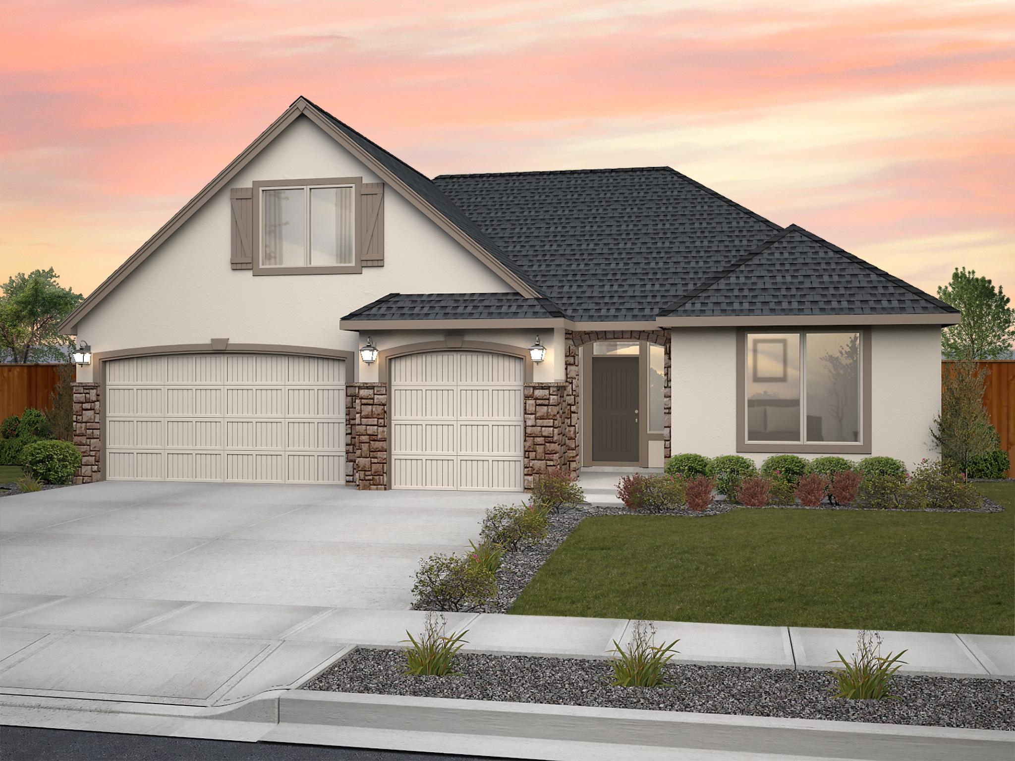 Exterior featured in the Deschutes By New Tradition Homes in Richland, WA