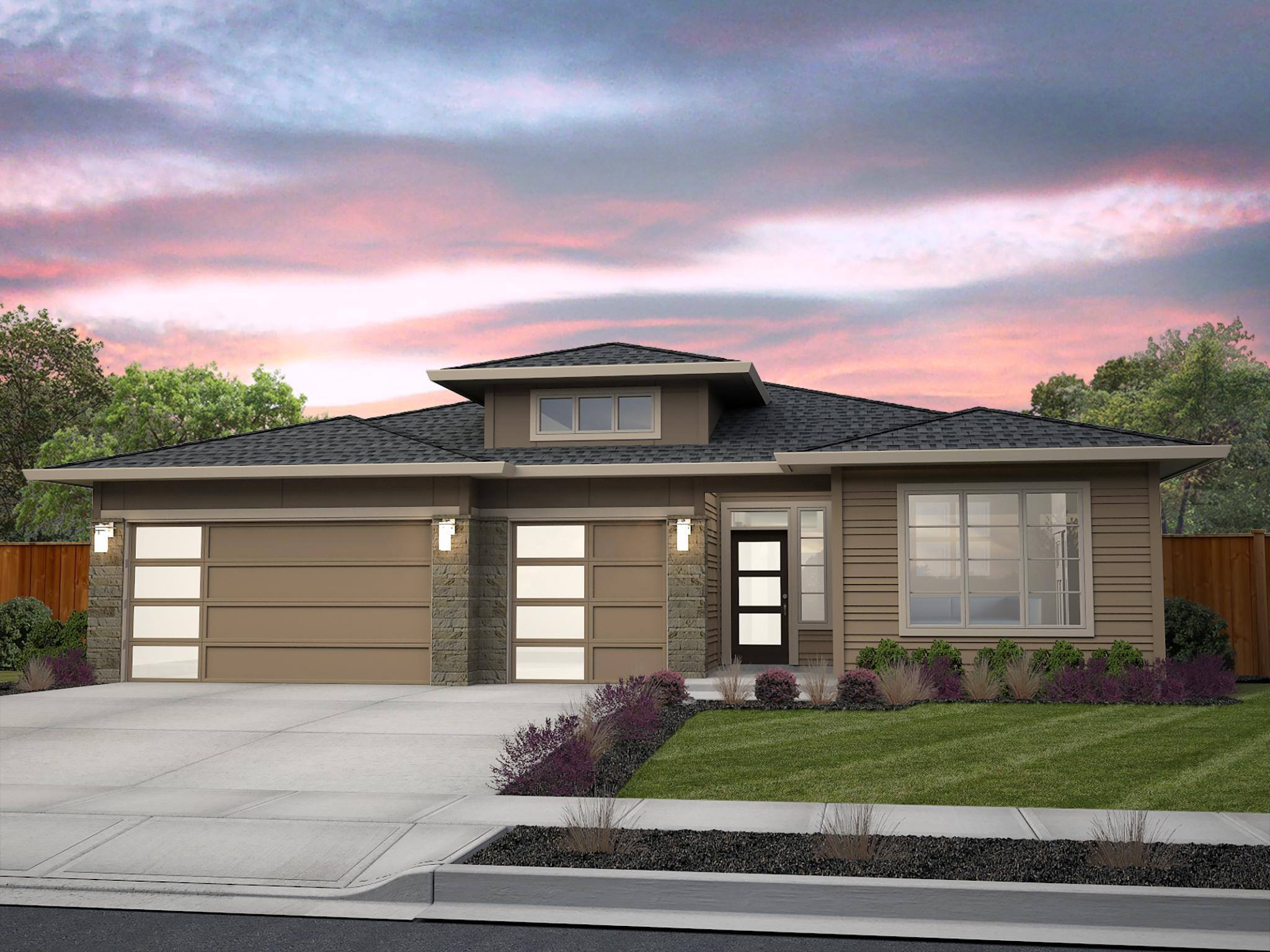 Exterior featured in the Vashon By New Tradition Homes in Portland-Vancouver, WA