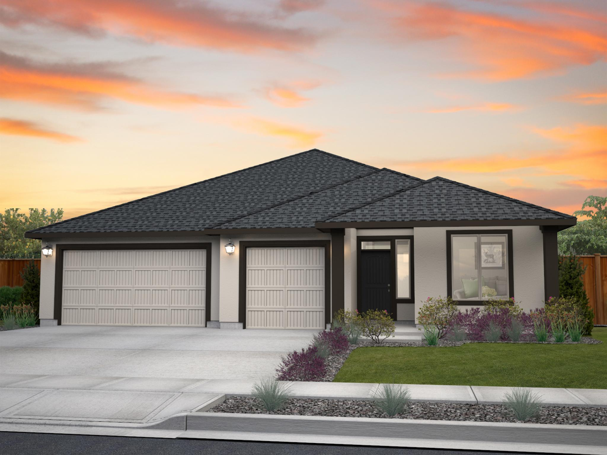 Exterior featured in the Trillium By New Tradition Homes in Yakima, WA